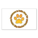 Cavalier King Charles Spaniel Sticker (Rectangle 1