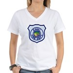 Kauai Fire Department Women's V-Neck T-Shirt
