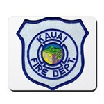 Kauai Fire Department Mousepad