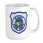 Kauai Fire Department Large Mug