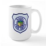 Kauai Fire Department Large Mug