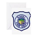 Kauai Fire Department Greeting Cards (Pk of 20)