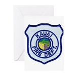 Kauai Fire Department Greeting Cards (Pk of 10)