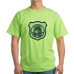 Kauai Fire Department Green T-Shirt
