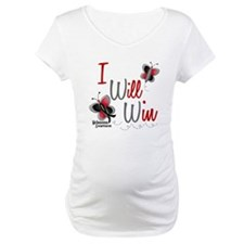 I Will Win 1 Butterfly 2 MELANOMA Shirt