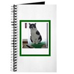 Tuxedo Cat Journal