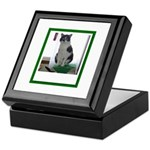 Tuxedo Cat Keepsake Box