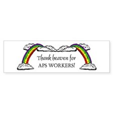 Thank Heaven APS Bumper Sticker (10 pk)
