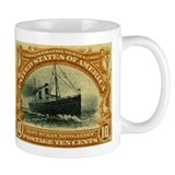 US 10c ocean navigation Mug