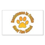 Akita Sticker (Rectangle 50 pk)