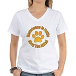 Akita Women's V-Neck T-Shirt