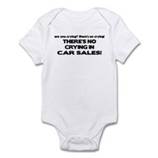 There's No Cyring in Car Sales Onesie