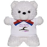 Dance Quote Gift Items Teddy Bear