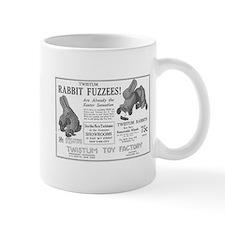 Antique ad: Rabbit Fuzzees Mug