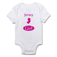 Cute New jersey girl Infant Bodysuit