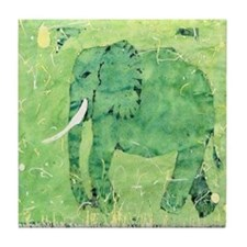 Elephant 1. Tile Coaster