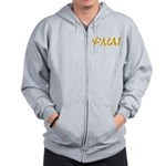 PHILIPPINE MARTIAL ARTS ZIPPERED HOODIE
