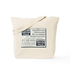 Whelpton's Purifying Pills Tote Bag