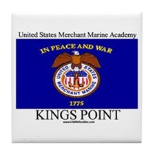USMM Flag Tile Coaster
