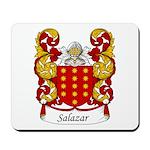 Salazar Family Crest Mousepad