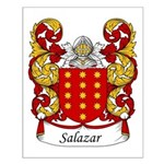 Salazar Family Crest Small Poster