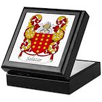 Salazar Family Crest Keepsake Box