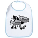 Peruvian Dog Creature Bib