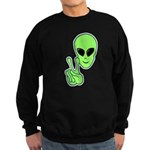 Peace Alien Sweatshirt (dark)
