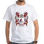 Santiago Family Crest White T-Shirt