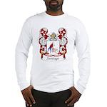 Santiago Family Crest Long Sleeve T-Shirt