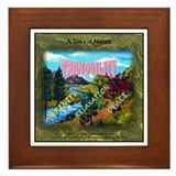 A Taste of Nature Framed Tile