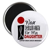 I Wear Grey For My Daughter 9 Magnet