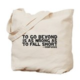 Confucius - Go Beyond Fall Short Tote Bag