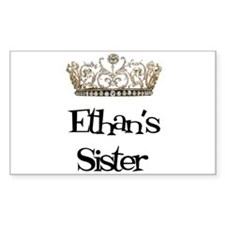 Ethan's Sister Rectangle Decal
