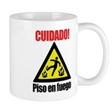 Piso en Fuego Mug
