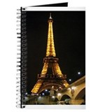 Funny Eiffel tower Journal