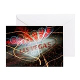 Vegas Sign Greeting Card