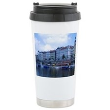 Prague, Czech Republic Ceramic Travel Mug