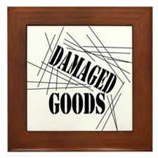 Damaged Goods Framed Tile