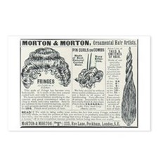 Morton hairpieces Postcards (Package of 8)