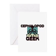 Cephalopod Geek Greeting Cards (Pk of 10)