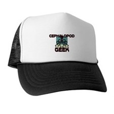 Cephalopod Geek Trucker Hat
