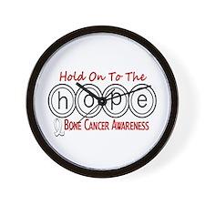 HOPE Bone Cancer 6 Wall Clock