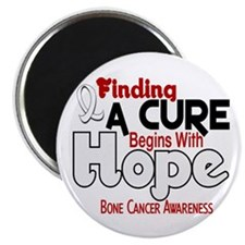 HOPE Bone Cancer 5 Magnet
