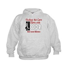 HOPE Bone Cancer 4 Hoodie