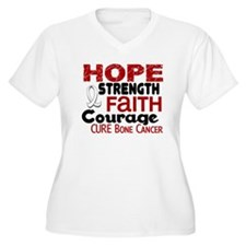 HOPE Bone Cancer 3 T-Shirt
