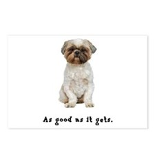 Good Lhasa Apso Postcards (Package of 8)