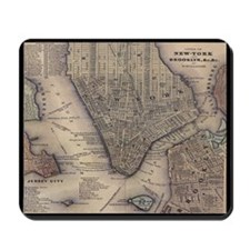 NYC Map Mousepad