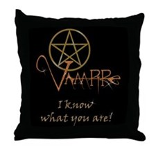 Twilight Know What You Are Throw Pillow