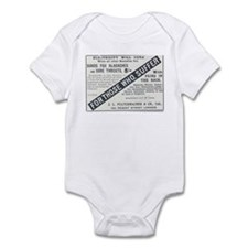 For Those Who Suffer Infant Bodysuit
